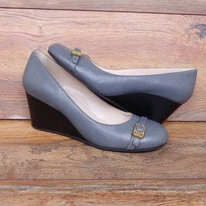 Cole Haan Leather Wedge Heels
